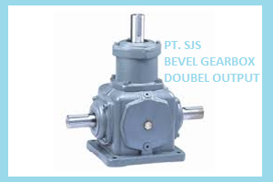 TYPE BEVEL GEARBOX DOUBLE OUTPUT
